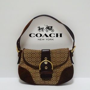 Coach brown mini bag D06W-6818